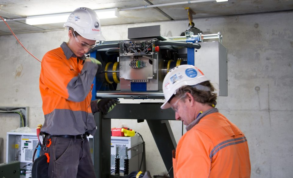 Schindler Australia's apprenticeship program has been running for over 30 years