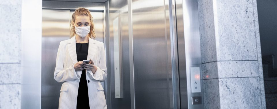CleanMobility solutions - Hygiene and safety in elevators, escalators and moving walks