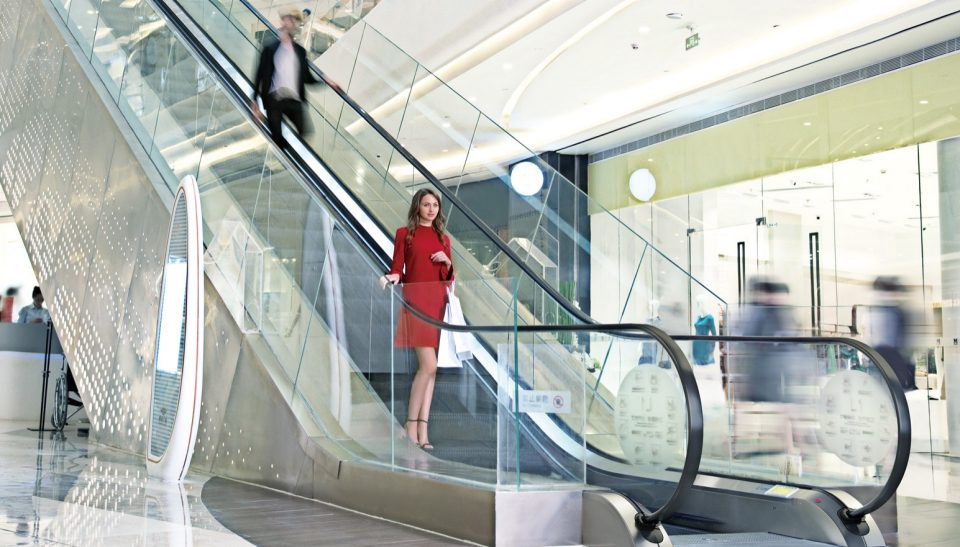 Schindler 9300 - The escalator for commercial & public spaces