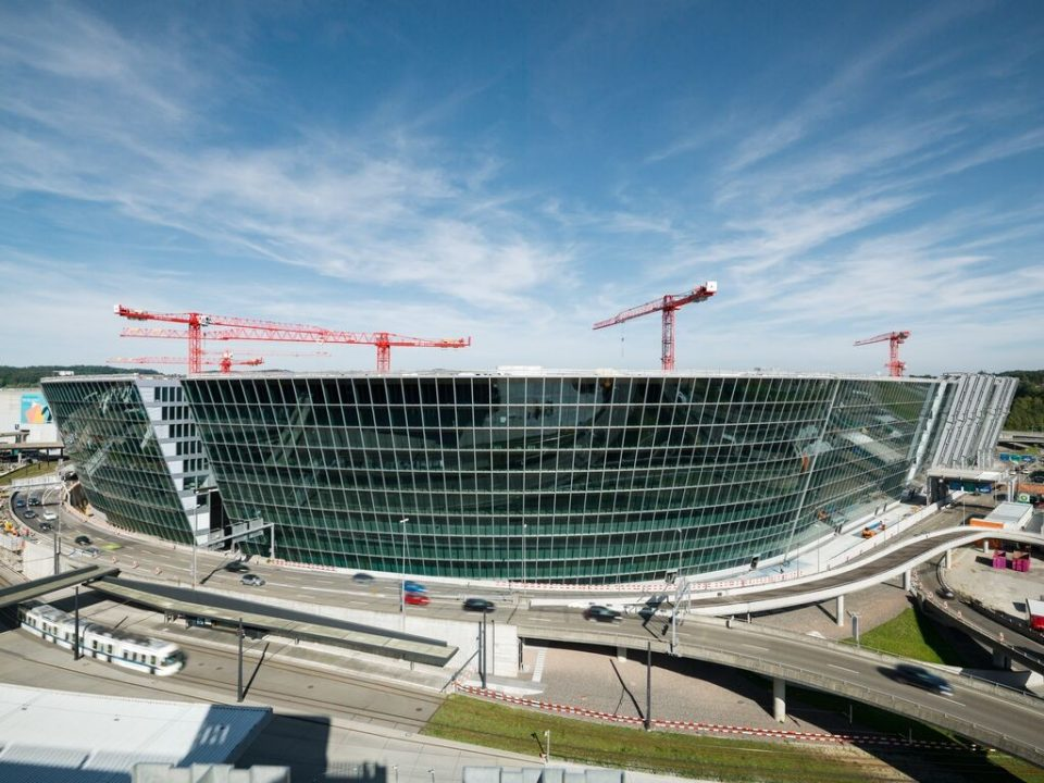 Siwtzerland's biggest construction site - The Circle at Zurich airport