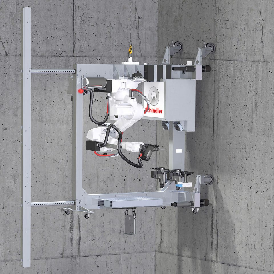 Breakthrough Schindler Robotics Installation System for Elevators paves way for greater automation and digitalization in elevator industry - Breakthrough Schindler Robotics Installation System for Elevators paves way for greater automation and digitalization in elevator industry