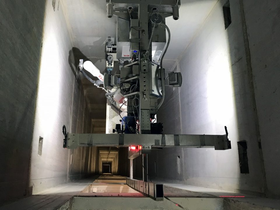 Schindler Robotics Installation System for Elevators improves safety and quality