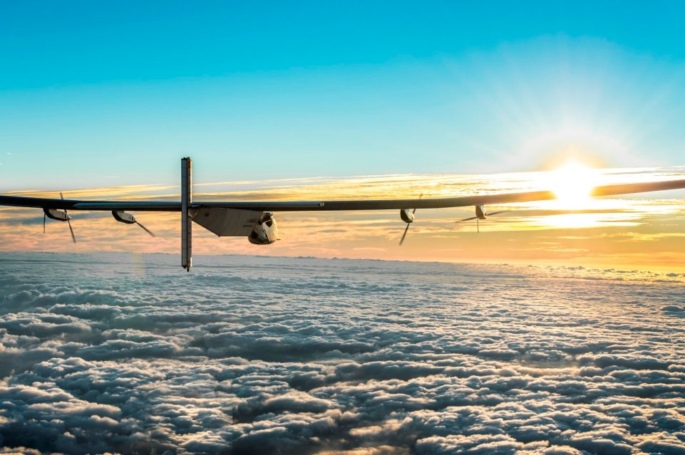 Solar Impulse Around the World - Above the clouds