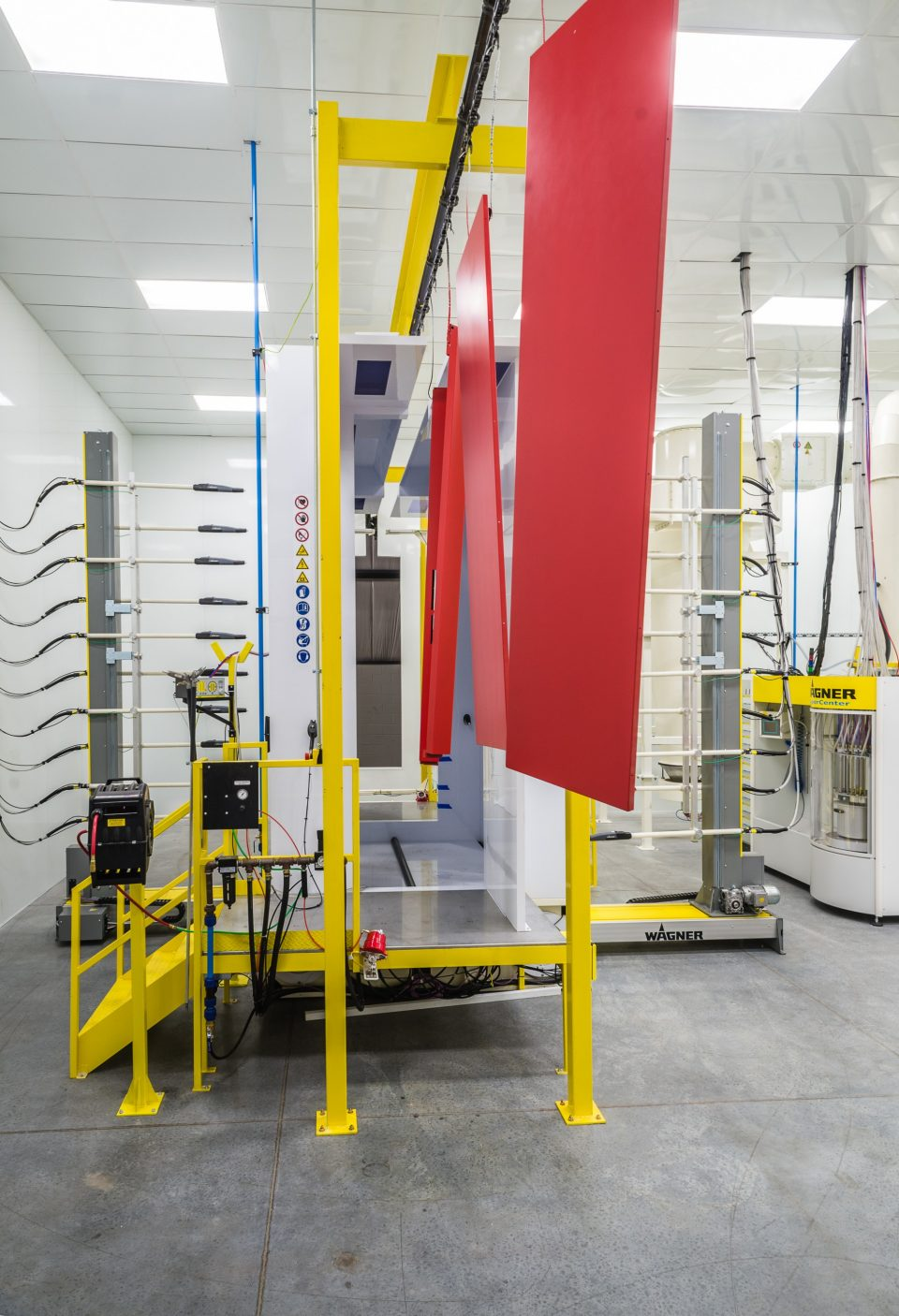 Schindler Elevator Hanover Components   Fabrication Of Components Visible  To Customers, Such As Doors,