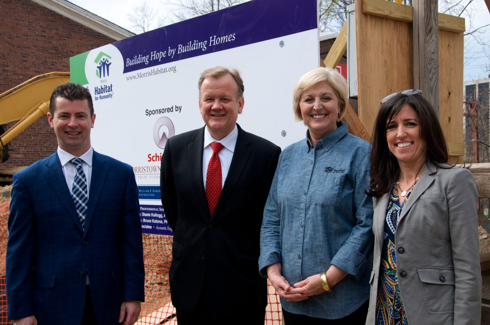 Schindler Habitat for Humanity - 10 Willow Street groundbreaking ceremony