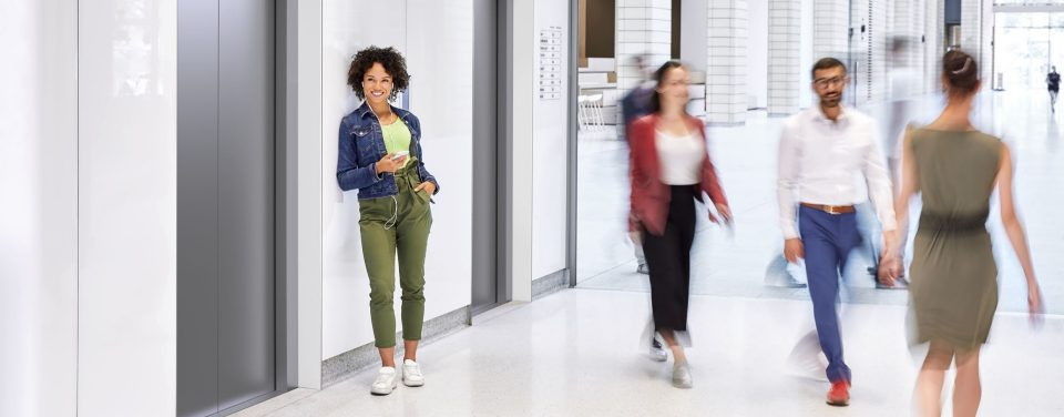 Schindler 3300 - The all-in-one elevator for residential and smaller commercial buildings