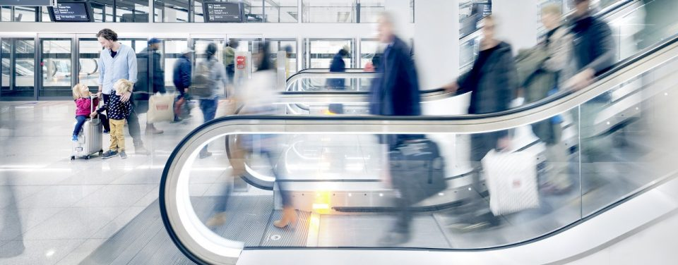 Schindler 9700 - the escalator for high-traffic public spaces