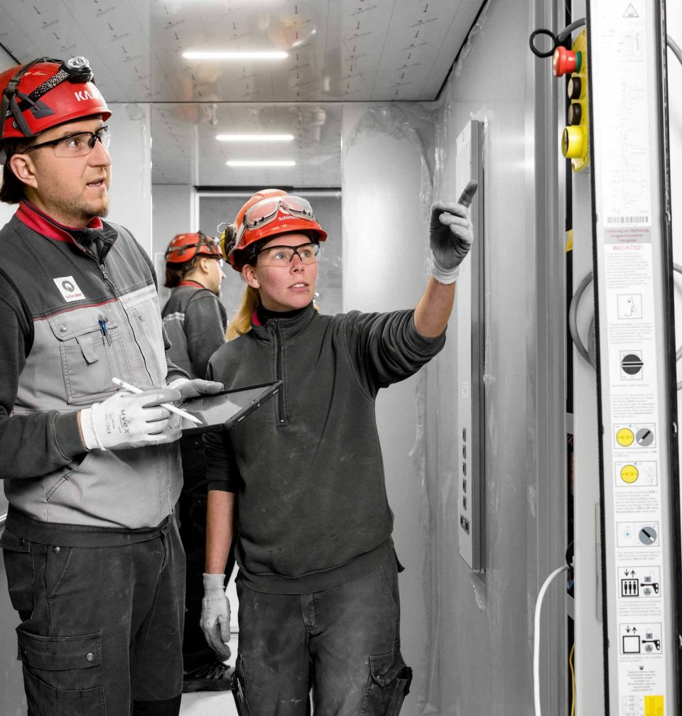 Schindler keeps elevator service technicians up-to-date on the latest technologies.